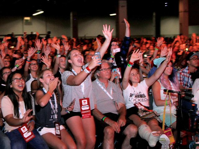 Vidcon - Youtube Convention im July 2015