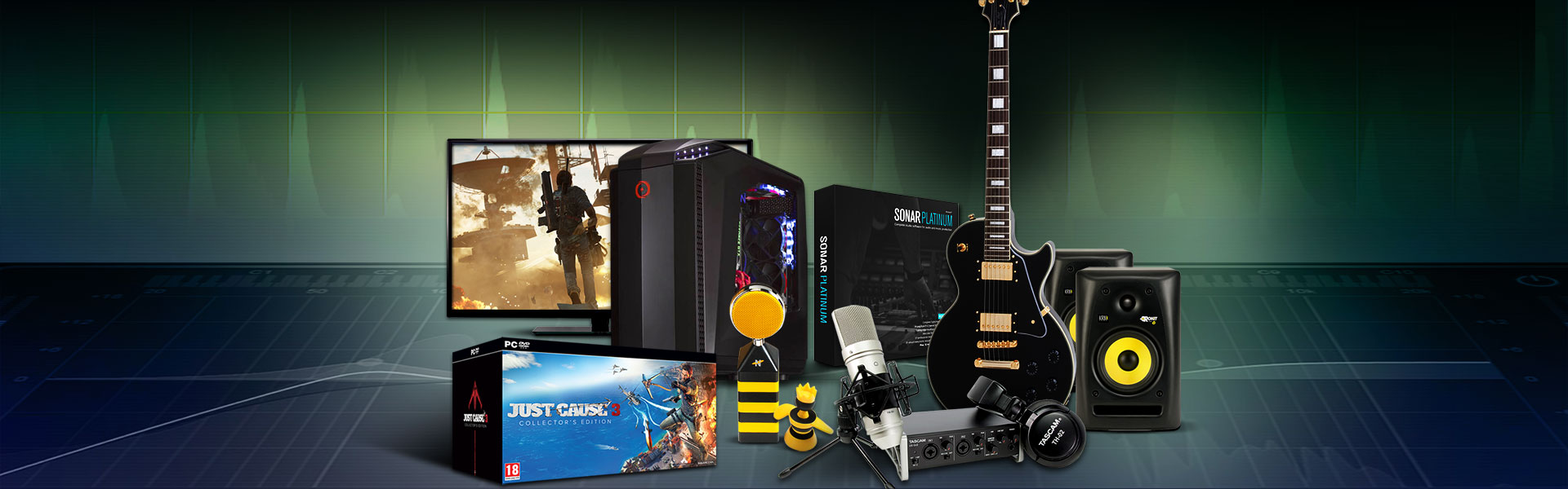 Just Cause 3_Make the launch trailer_Prizes
