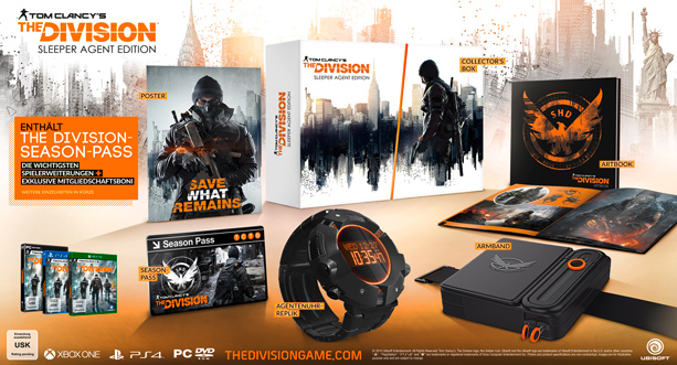 The Division_Sleeper Agent Collector Edition