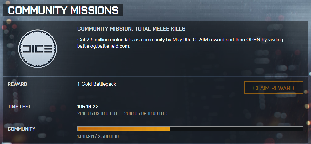 Communitymission Melee