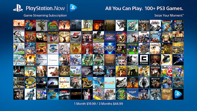 Gamepool Playstation Now