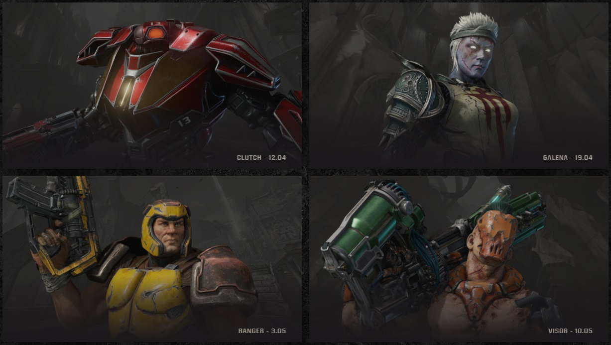 Quake Champions_Closed Beta_Champions