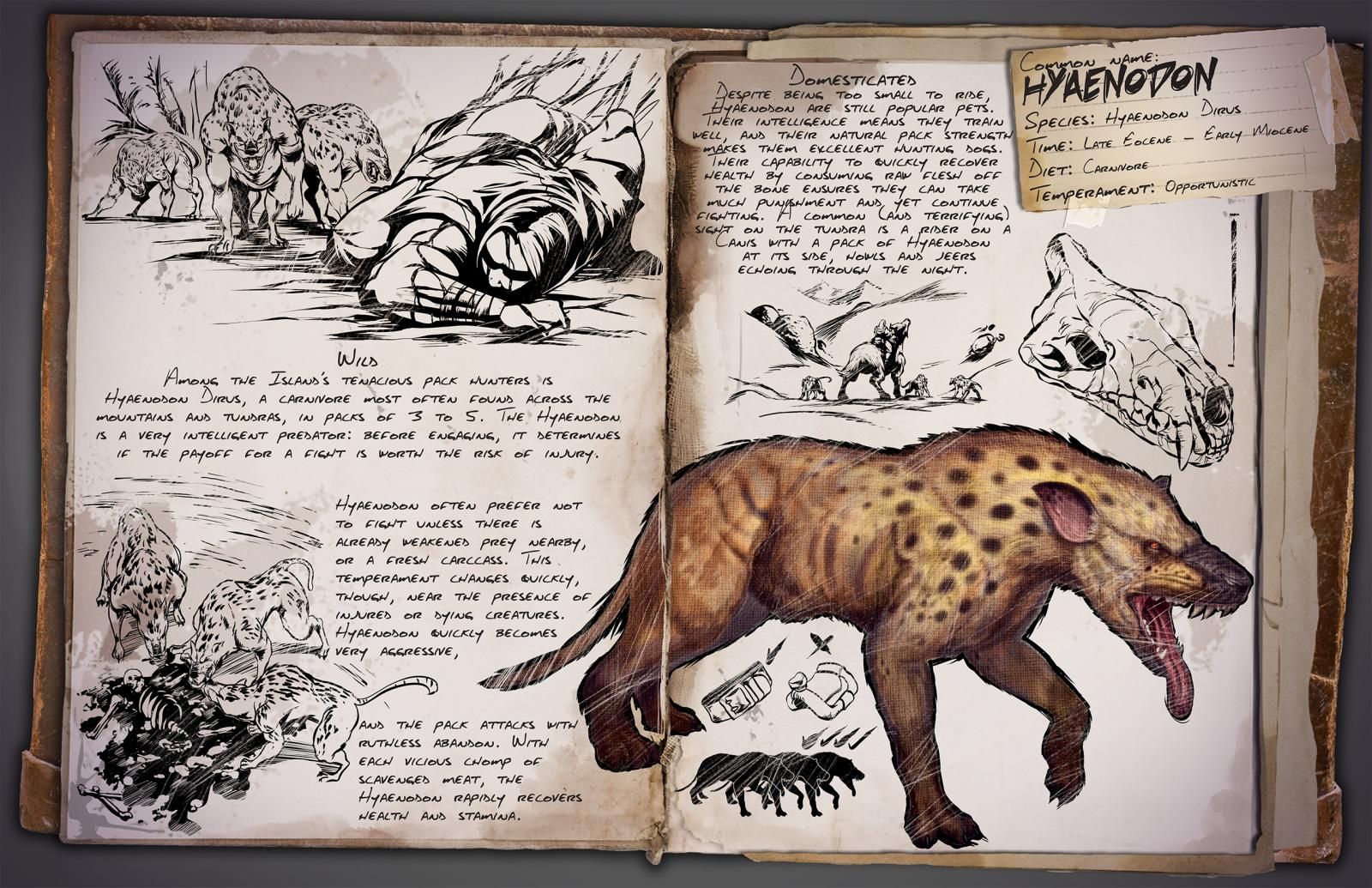 Ark survival evolved patch 258 brings new dinos toilets ark hyaenodon malvernweather Choice Image