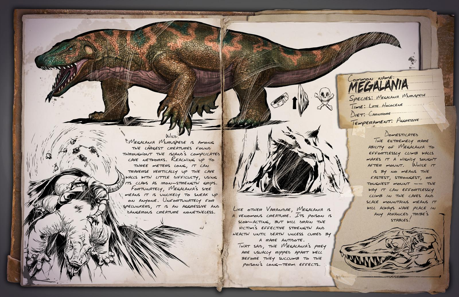 Ark survival evolved patch 258 brings new dinos toilets arkmegalania malvernweather Gallery