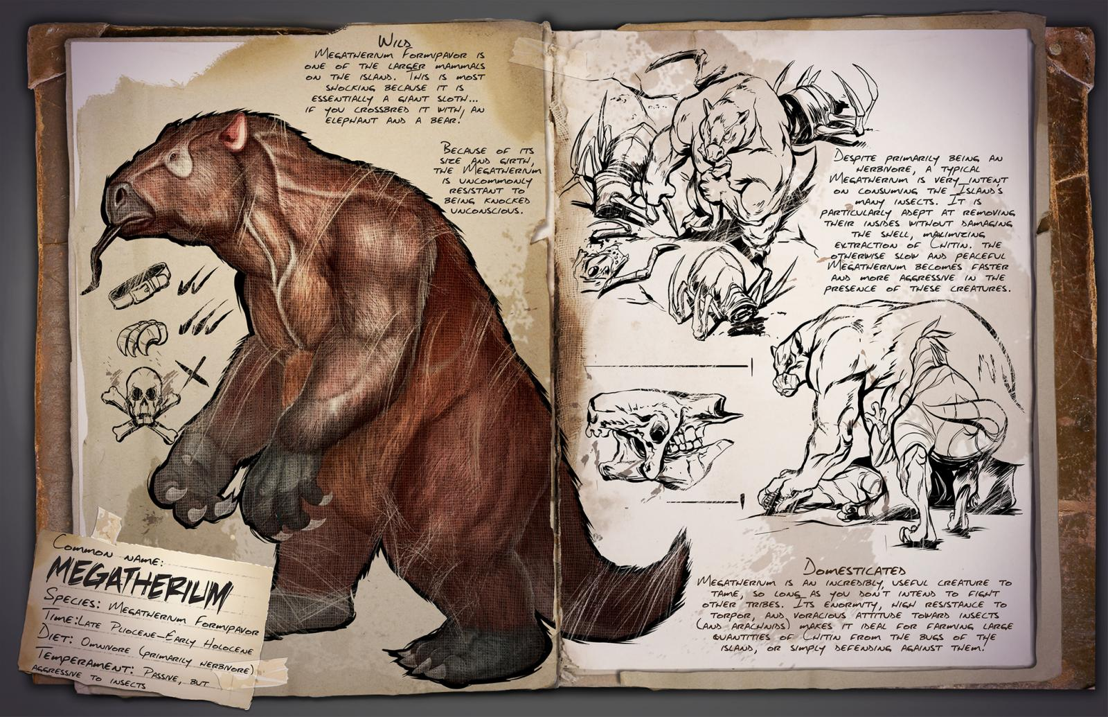 Ark survival evolved patch 258 brings new dinos toilets arkmegatherium malvernweather Choice Image
