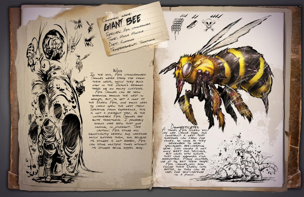 Giant Bee Dossier