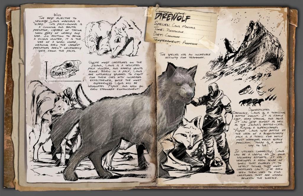 Ark Dire Wolf