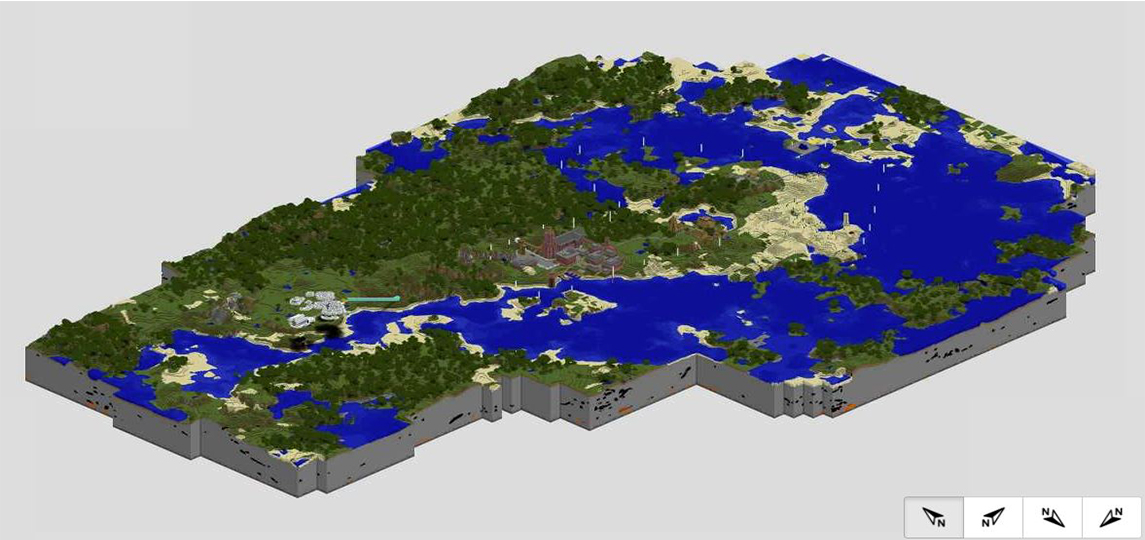 Minecraft - The new Overview Map - faster and more stable